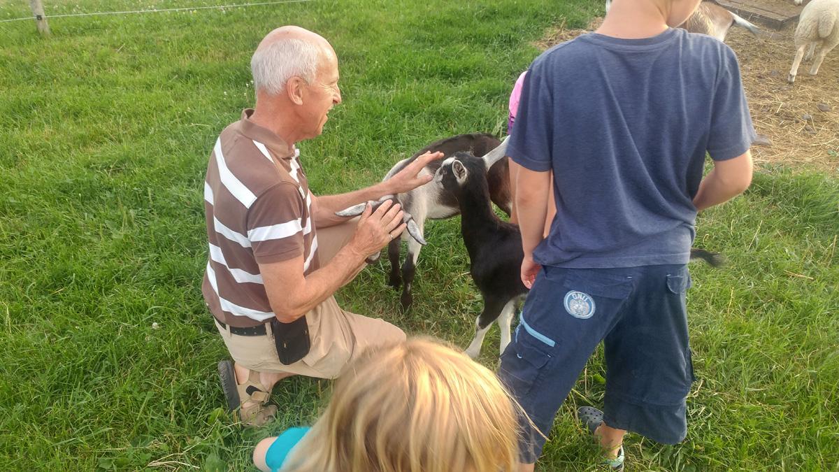The Goat Whisperer ...